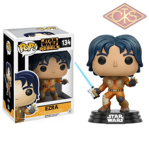 Funko Pop! Star Wars - Rebels Ezra (134) Figurines