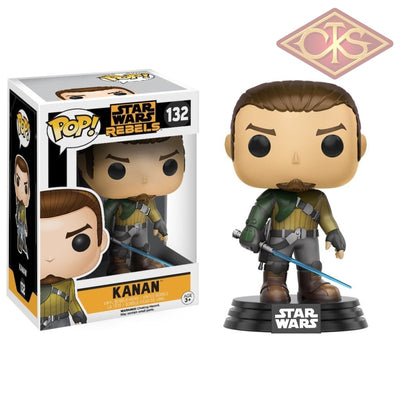 Funko Pop! Star Wars - Rebels Kanan (132) Figurines