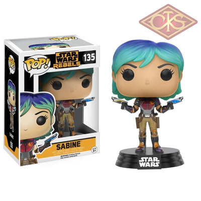 Funko Pop! Star Wars - Rebels Sabine (135) Figurines
