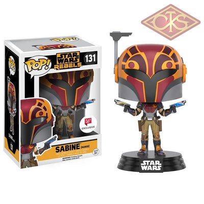 Funko Pop! Star Wars Rebels - Sabine (Masked) (131) Exclusive Figurines