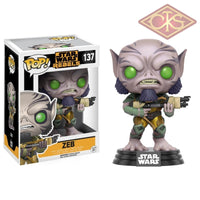 Funko Pop! Star Wars - Rebels Zeb (137) Figurines