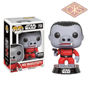 Funko Pop! Star Wars - Red Snaggletooth (70) Exclusive Figurines