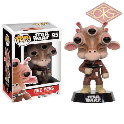 Funko Pop! Star Wars - Ree Yees (95) Exclusive Figurines