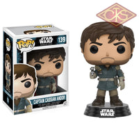 Funko Pop! Star Wars - Rogue One Captain Cassian Andor (139) Figurines