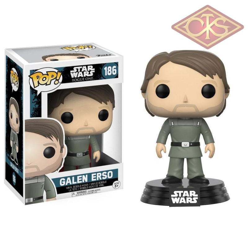 Funko Pop! Star Wars - Rogue One - Vinyl Figure Galen Erso (186) Bobble-Head