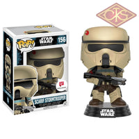 Funko Pop! Star Wars - Rogue One Scarif Stormtrooper (Blue Stripe) (156) Figurines