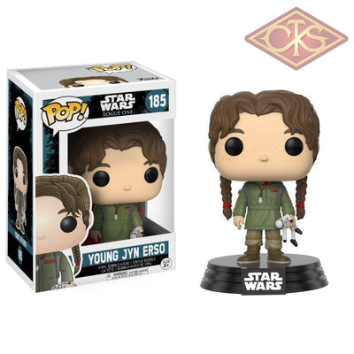 Funko Pop! Star Wars - Rogue One Young Jyn Erso (185) Figurines