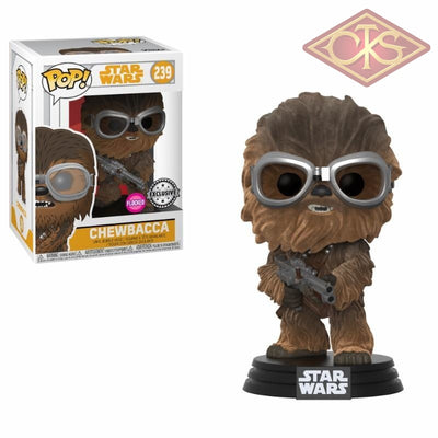 Funko Pop! Star Wars - Solo Chewbacca (Flocked) (239) Exclusive Figurines