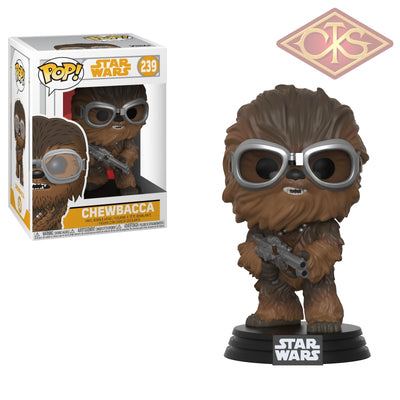 Funko Pop! Star Wars - Solo Chewbacca With Goggles (239) Figurines