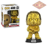 Funko POP! Star Wars - The Force Awakens - Chewbacca (Gold Chrome) (63) Exclusive