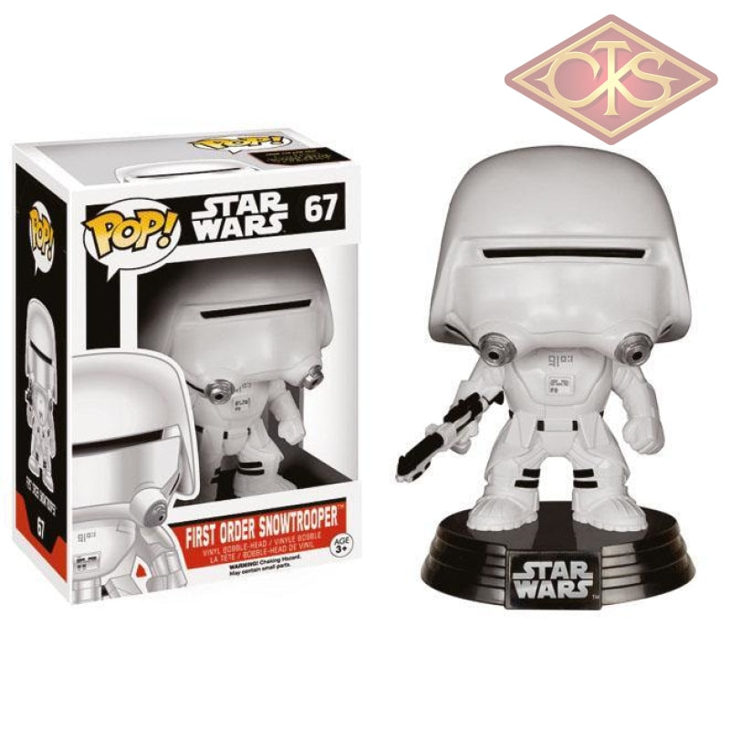 Funko Pop! Star Wars - The Force Awakens First Order Snowtrooper (67) Figurines