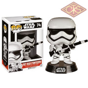 Funko Pop! Star Wars - The Force Awakens First Order Stormtrooper (74) Exclusive Figurines