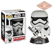 Funko Pop! Star Wars - The Force Awakens First Order Stormtrooper (Shield) (75) Exclusive Figurines