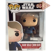 Funko Pop! Star Wars - The Force Awakens Han Solo (Snow Gear) (86) Exclusive Figurines