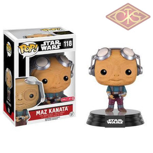 Funko Pop! Star Wars - The Force Awakens Maz Kanata (Goggles Up) (118) Figurines