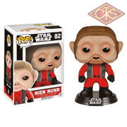 Funko Pop! Star Wars - The Force Awakens Nien Nunb (82) Figurines