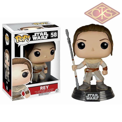Funko Pop! Star Wars - The Force Awakens Rey (58) Figurines