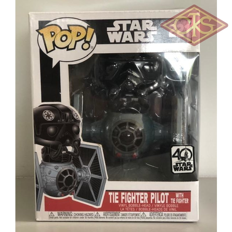 Funko Pop! Star Wars - Tie Fighter Pilot With (221) Damaged Packaging Figurines