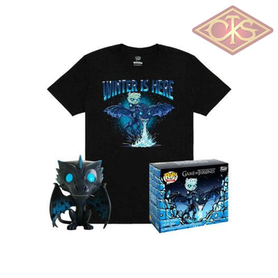 Funko POP! Tees - Game of Thrones - Icy Viserion (GITD) & T-shirt (22) Exclusive