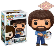 Funko Pop! Television - Bob Ross The Joy Of Painting (524) Figurines