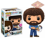 Funko Pop! Television - Bob Ross The Joy Of Painting (Flocked) (Exclusive) (524) Figurines