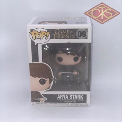 Funko POP! Television - Game of Thrones - Arya Stark (09) DAMAGED PACKAGING
