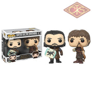 Funko Pop! Television - Game Of Thrones Battle The Bastards (2Pack) Figurines