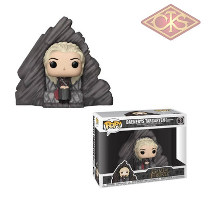 Funko Pop! Television - Game Of Thrones Daenerys Targaryen On Dragonstone Throne (63) Figurines