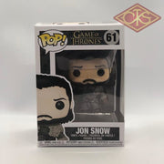 Funko Pop! Television - Game Of Thrones Jon Snow (61) Damaged Packaging Figurines