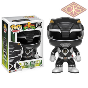 Funko Pop! Television - Mighty Morphin Power Rangers Black Ranger (361) Figurines