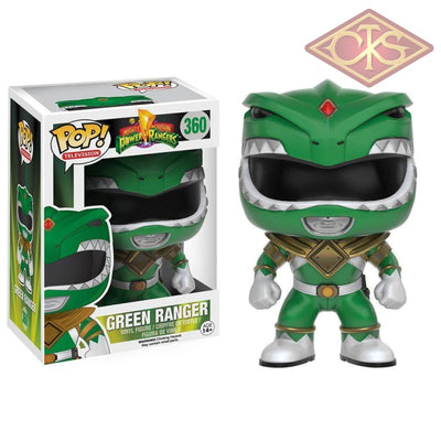 Funko Pop! Television - Mighty Morphin Power Rangers Green Ranger (360) Figurines