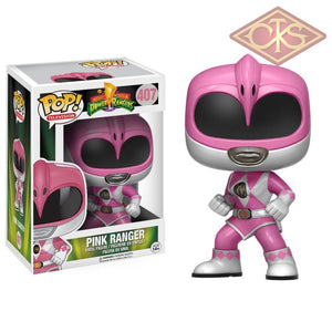 Funko Pop! Television - Mighty Morphin Power Rangers Pink Ranger (407) Figurines