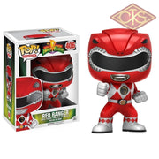 Funko Pop! Television - Mighty Morphin Power Rangers Red Ranger (406) Figurines