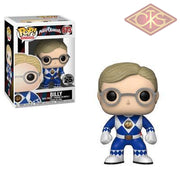 Funko Pop! Television - Power Rangers Blue Ranger (No Helmet) Billy (673) Figurines