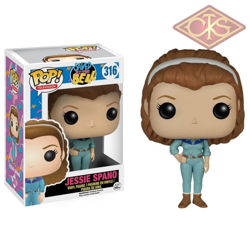 Funko Pop! Television - Saved By The Bell Jessie Spano (316) Figurines