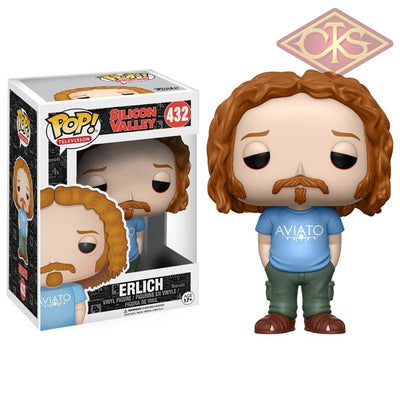 Funko Pop! Television - Silicon Valley Erlich (432) Figurines