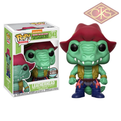 Funko Pop! Television - Teenage Mutant Ninja Turtles Leatherhead (Specialty Series) (543) Figurines