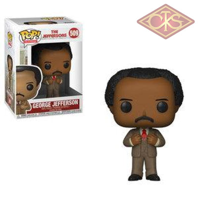 Funko Pop! Television - The Jeffersons George Jefferson (509) Figurines