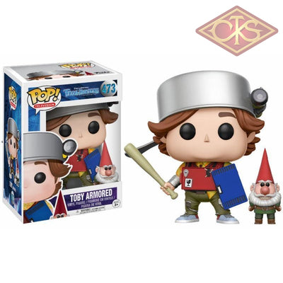 Funko Pop! Television - Trollhunters Toby Armored (473) Exclusive Figurines
