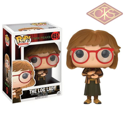 Funko Pop! Television - Twin Peaks The Log Lady (451) Figurines