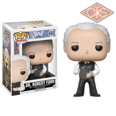 Funko Pop! Television - Westworld Dr. Robert Ford (460) Damaged Packaging Figurines
