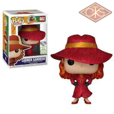 Funko Pop! Television - Where In The World Is Carmen Sandiego (Diamond Collection) (Eccc 2019) (662)