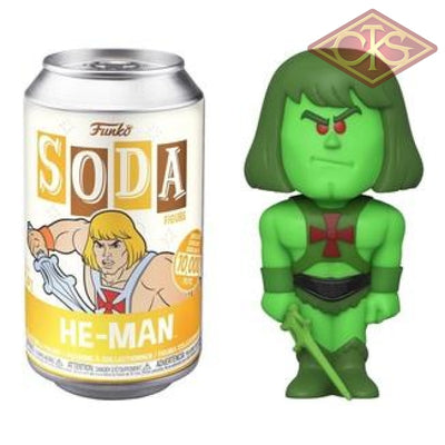 Funko Soda - Masters Of The Universe He-Man (Slime Pit) Chase Figurines