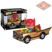 Funko Vinyl Dorbz - Ridez Batman Batmobile (Gold) W/ (Sdcc 2016) Exclusive Figurines