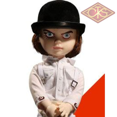 Mezco Toys Living Dead - A Clockwork Orange Alex Delarge (25 Cm) Figurines