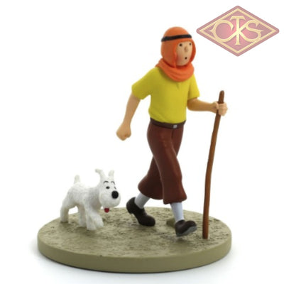 Moulinsart - Tintin / Kuifje Coffret Scène In The Dessert (Tintin Oriental) Figurines
