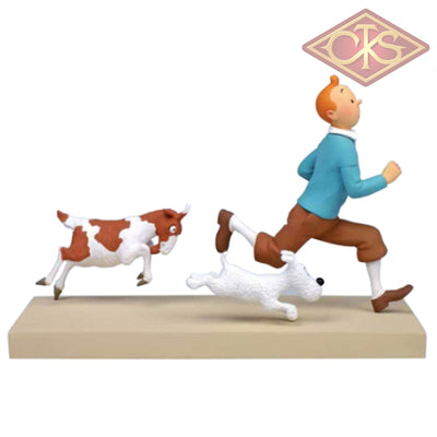 Moulinsart - Tintin / Kuifje Collection Privilèges:  Et La Chèvre (°2015) Figurines