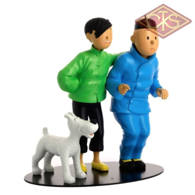 Moulinsart - Tintin / Kuifje Collection Rencontres:  & Tchang Figurines