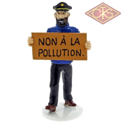 Moulinsart - Tintin / Kuifje Haddock Non À La Pollution (°2017) Figurines