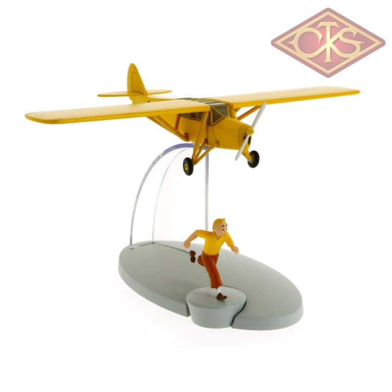 Moulinsart - Tintin / Kuifje Orange Plane & Figurines